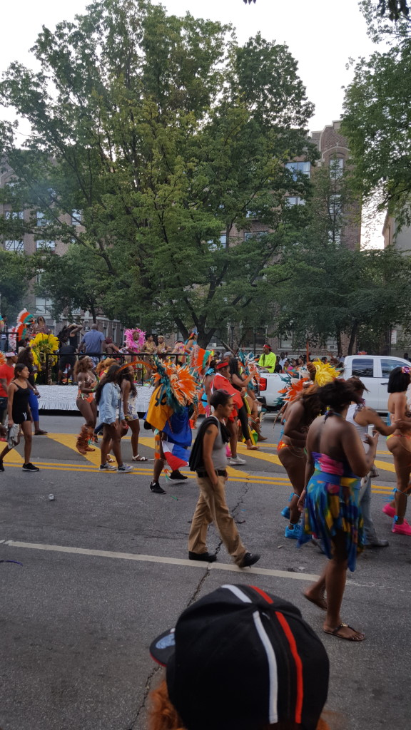 West Indian Parade in Brooklyn, New York. The culture was electrifying.